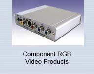 HD SD Component Video RGB YUV Video Products