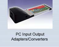 PC Input Output Adapters/Converters