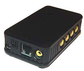 4-Channel Web Video Server With TV Out ~ Remote Video Surveillance Station