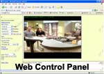 Web Control Panel Page