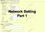 Networking Setting For 4-Channel Web Video Server With TV Out