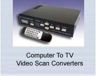 Computer To TV Scan Converters