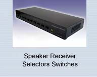 Speaker Receiver Selectors Routing Switches