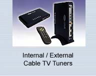External Internal Cable TV Tuner Demodulator Products