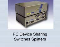PC Device Sharing Routing Switches Splitters